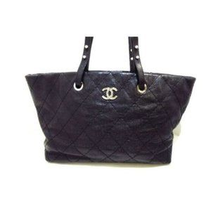 CHANEL On The Road Wild Stitch Tote Bag